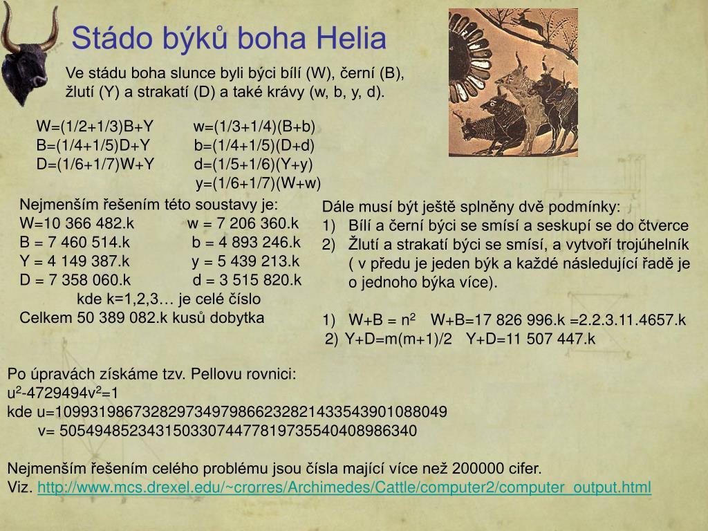 Stádo býků boha Helia