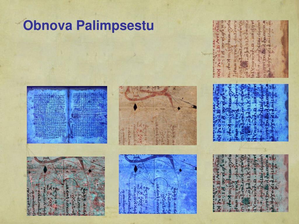 Obnova Palimpsestu