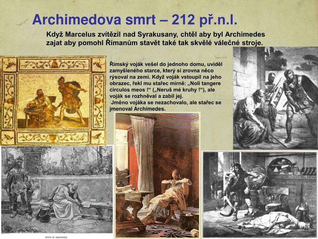 Archimedova smrt – 212 př.n.l.