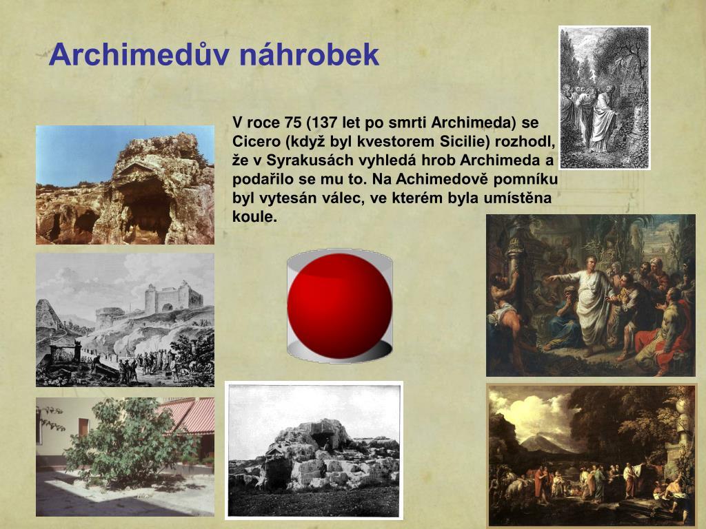 Archimedův náhrobek
