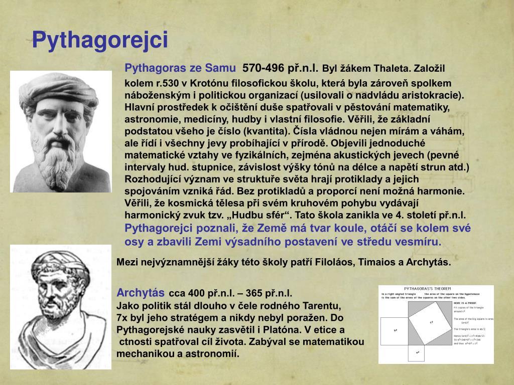 Pythagorejci