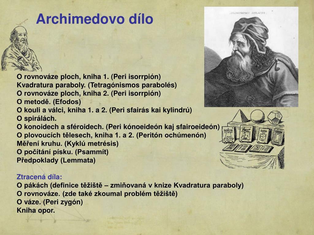 Archimedovo dílo