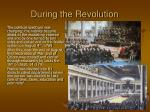 during the revolution