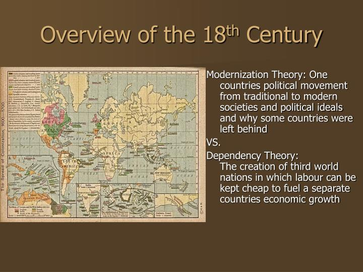 overview of the 18th century The restoration refers to the restoration of the monarchy when charles ii was restored to the throne of england following an eleven-year commonwealth period during which the country was governed by parliament under the direction of the puritan general oliver cromwell this political event coincides with (and to some extent is responsible for.