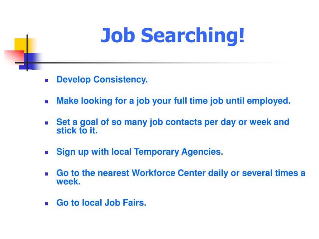 Job Searching!