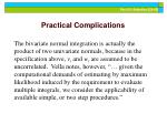 practical complications