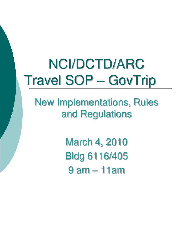 NCI/DCTD/ARC