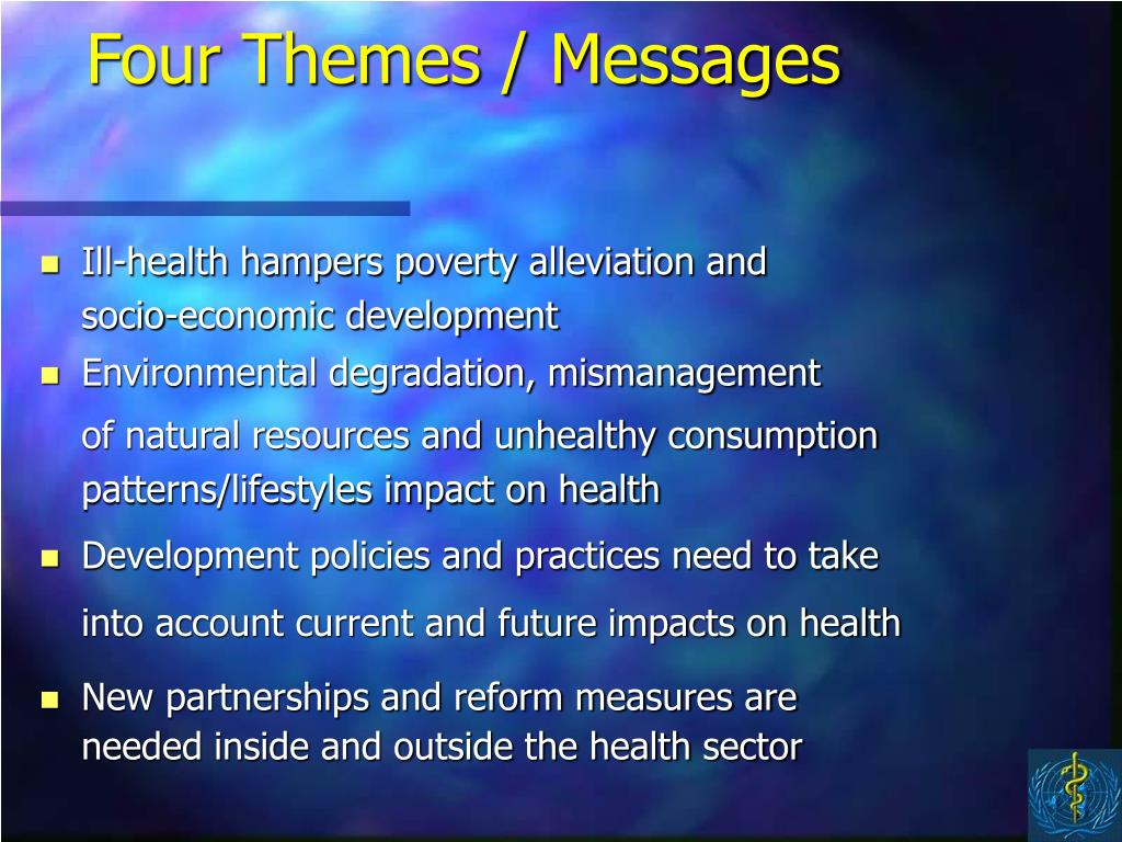 Four Themes / Messages