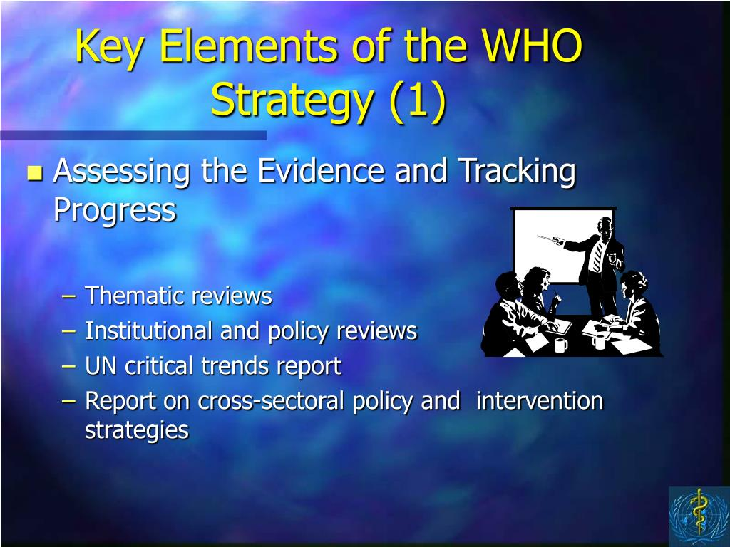 Key Elements of the WHO Strategy (1)