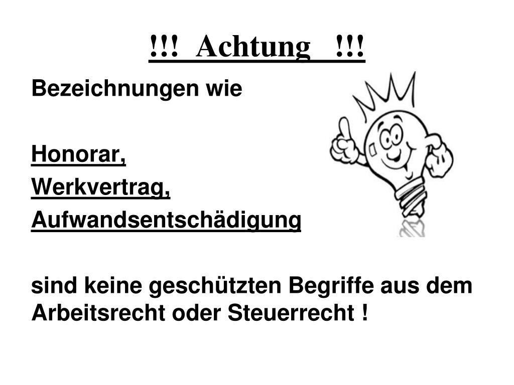 !!!  Achtung   !!!