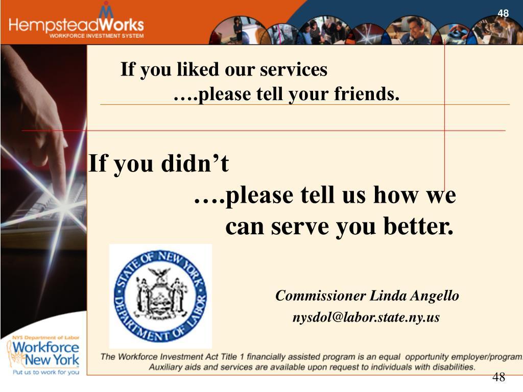 Commissioner Linda Angello