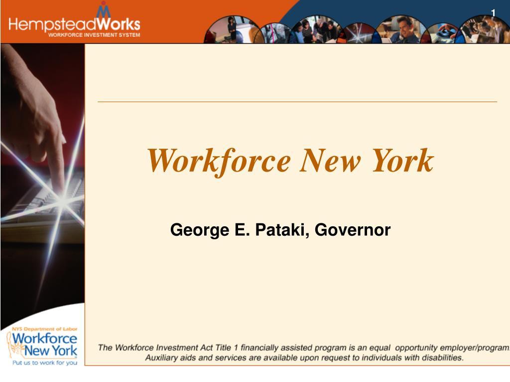 Workforce New York