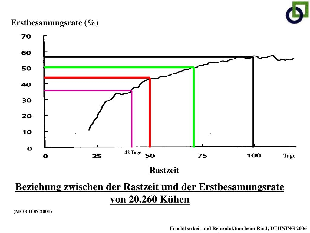 Erstbesamungsrate (%)
