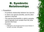 b symbiotic relationships6