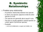 b symbiotic relationships7