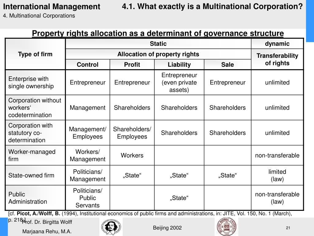 4.1. What exactly is a Multinational Corporation?