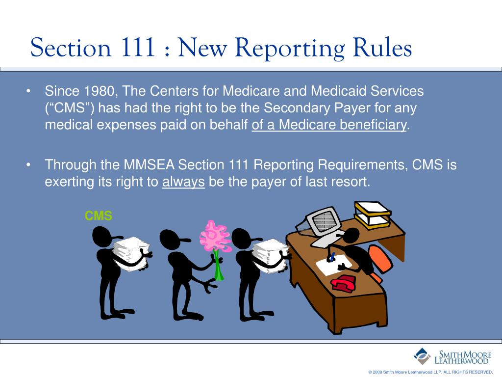 Section 111 : New Reporting Rules
