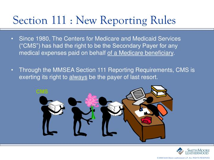 Section 111 new reporting rules