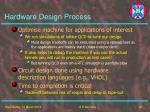 hardware design process