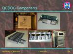qcdoc components