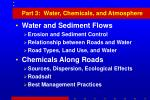 part 3 water chemicals and atmosphere