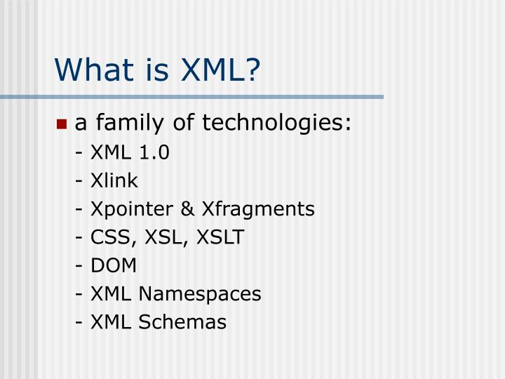 What is xml2