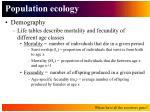 population ecology12