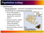 population ecology7