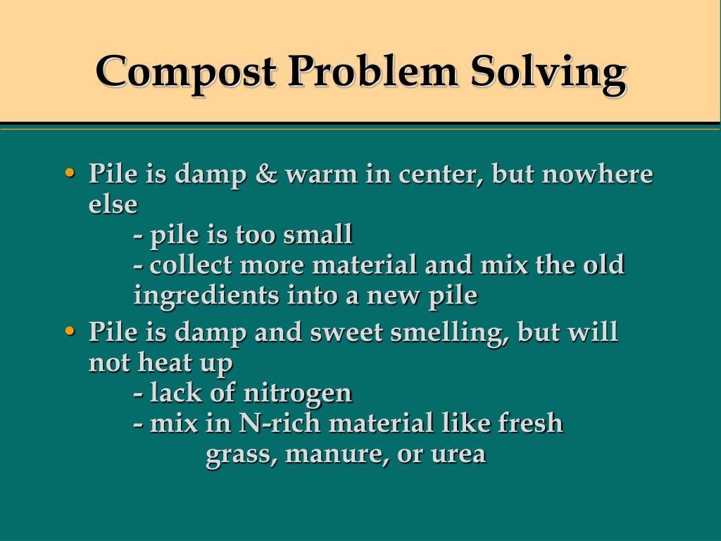 Compost Problem Solving