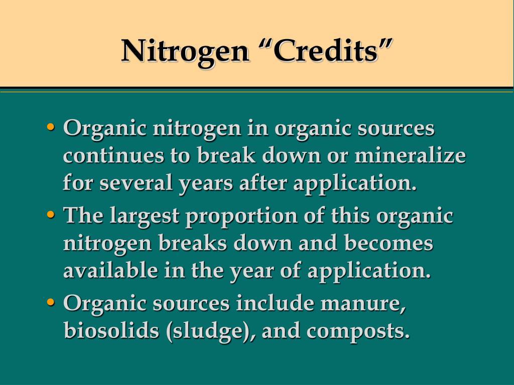 "Nitrogen ""Credits"""