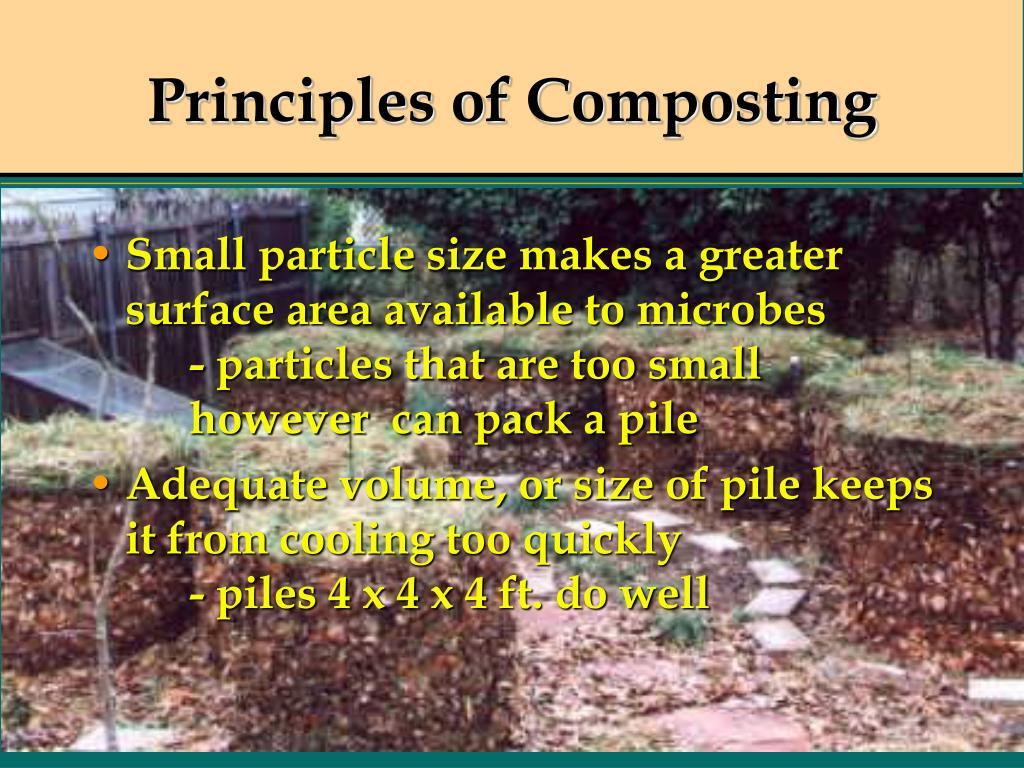 Principles of Composting