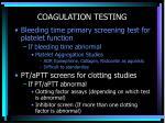 coagulation testing18