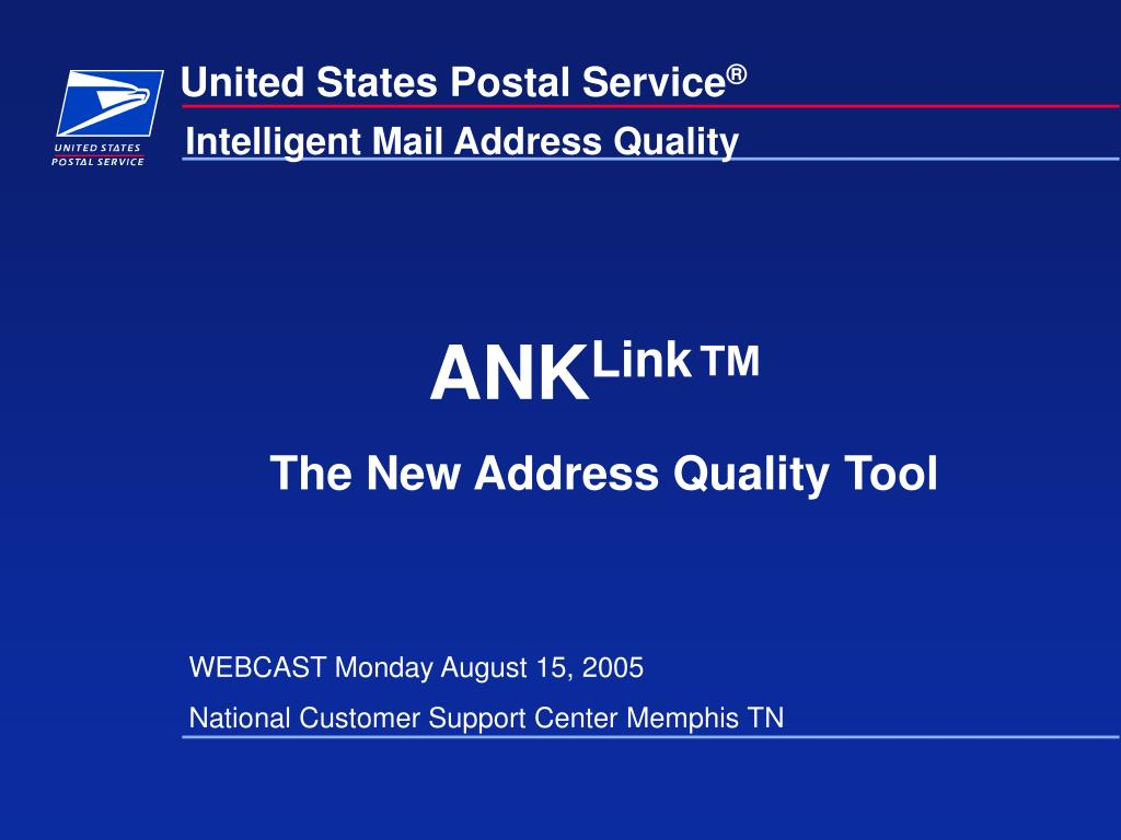 united states postal service l.