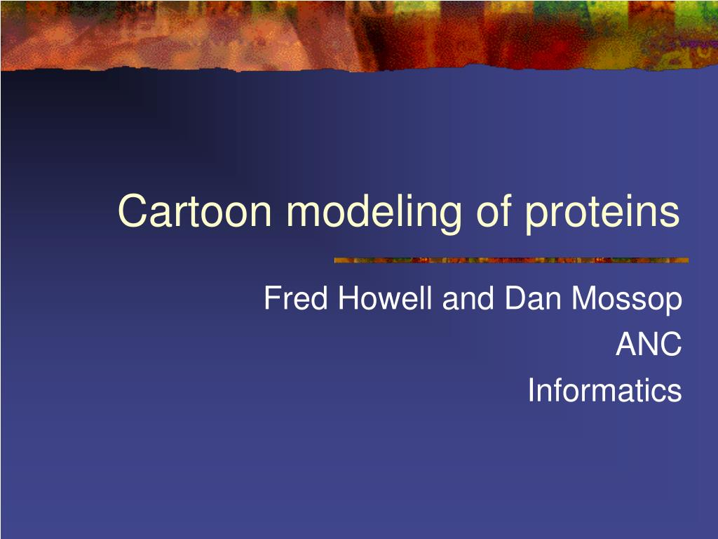 cartoon modeling of proteins l.