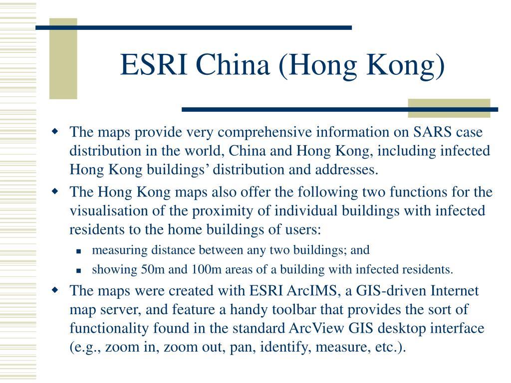 ESRI China (Hong Kong)