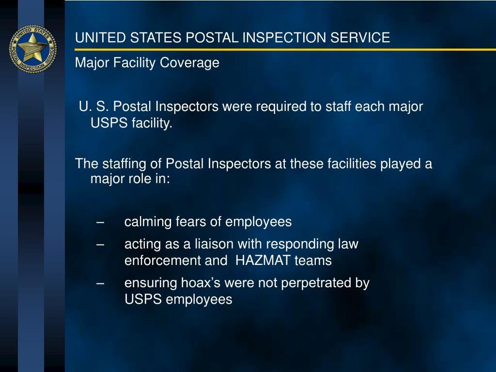 Major Facility Coverage