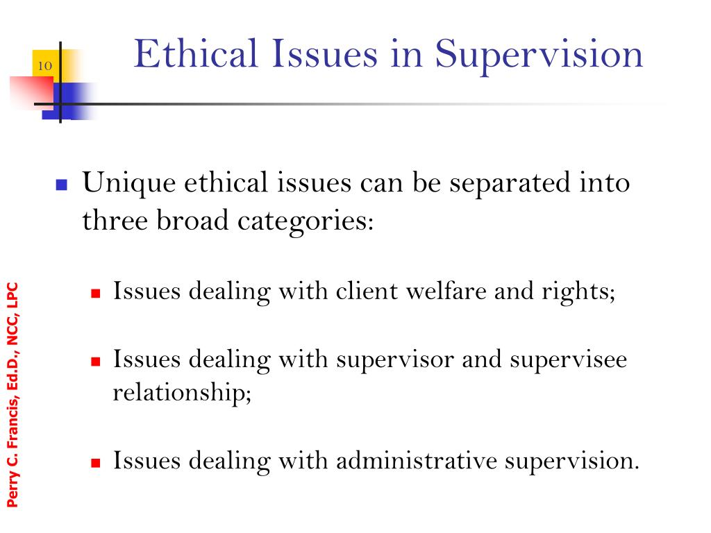 reflective summary of clinical supervision model