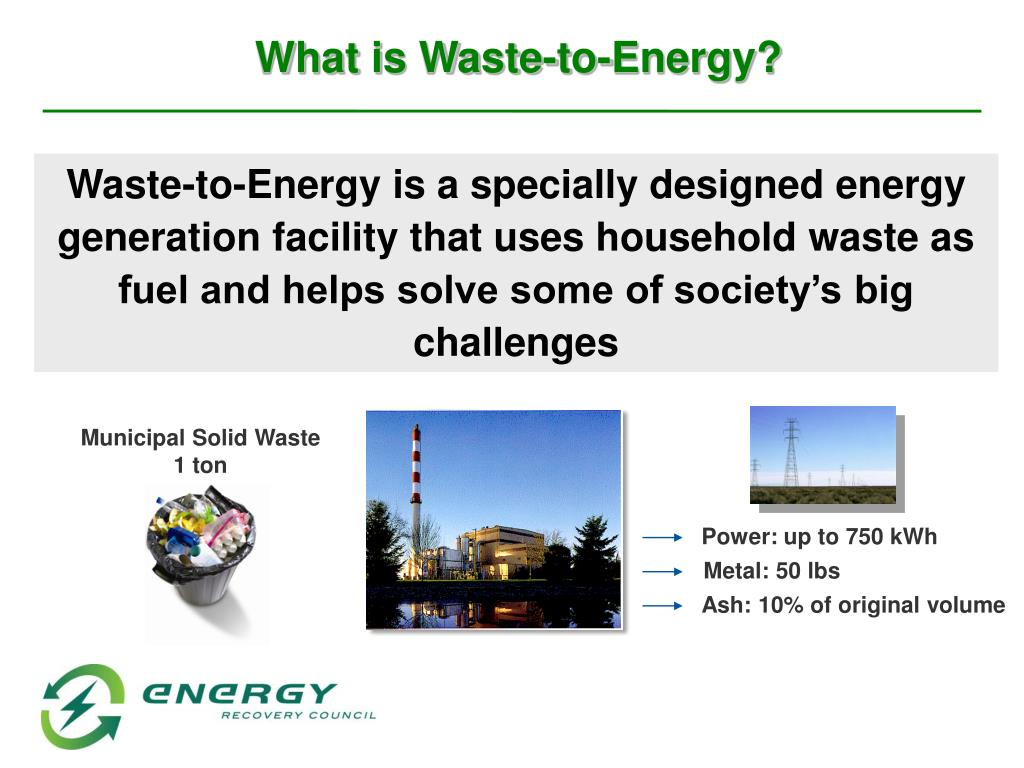 What is Waste-to-Energy?
