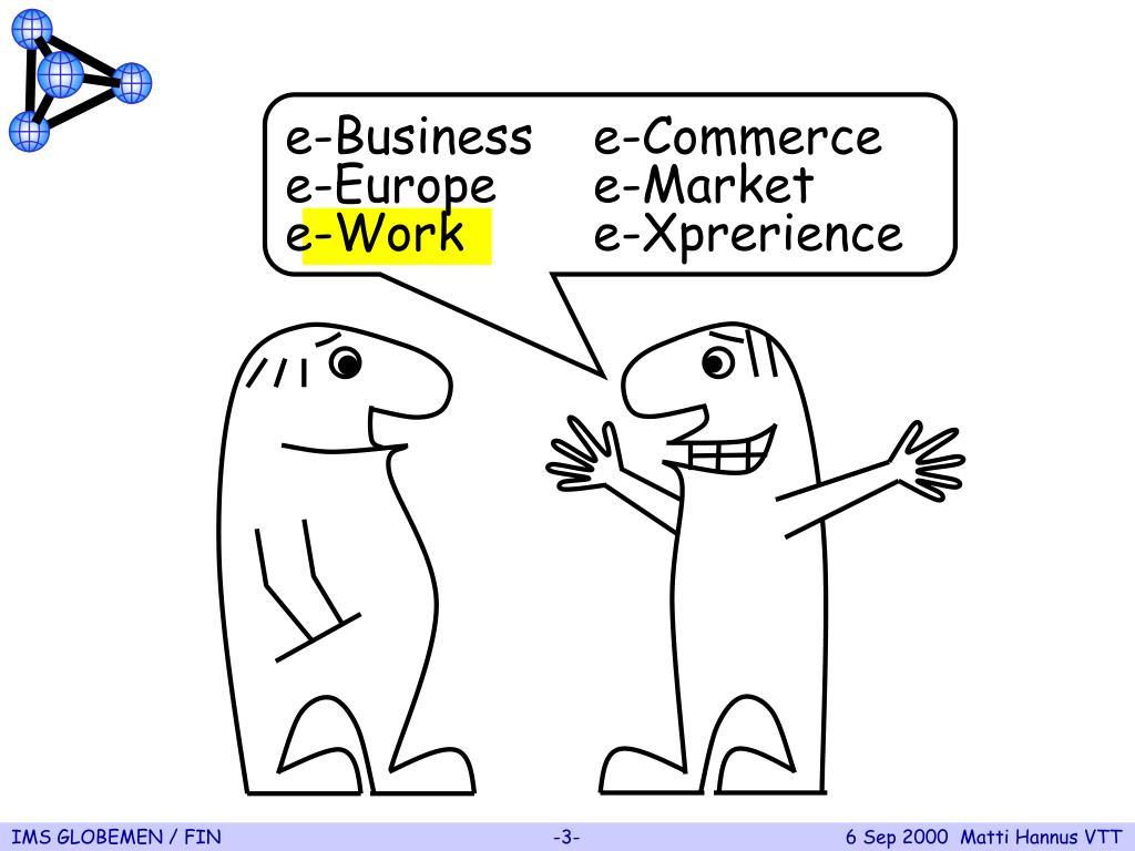 e-Businesse-Commerce