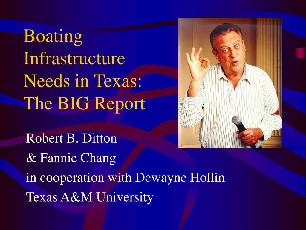 boating infrastructure needs in texas the big report l.