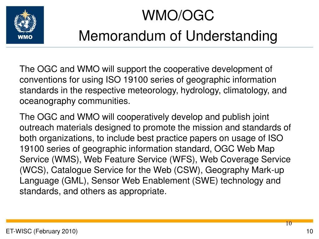 WMO/OGC