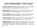 lake washington ship canal