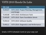 vsts 2010 hands on labs