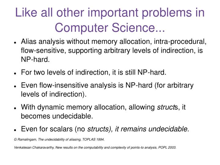 Like all other important problems in Computer Science...