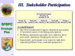iii stakeholder participation11