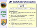 iii stakeholder participation12
