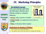 ix marketing principles67