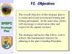 vi objectives