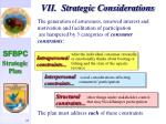 vii strategic considerations24