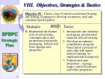 viii objectives strategies tactics32